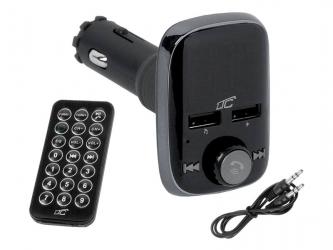 Transmiter samochodowy LTC TR220 Bluetooth 2xUSB 2.4A