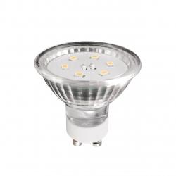 Żarówka LED GU10 1,2W AC230V, 100lm,WW,blister