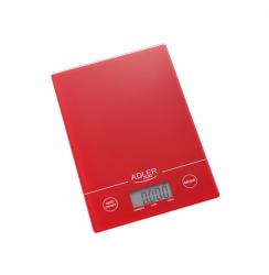 Elektroniczna waga kuchenna Adler AD 3138r czerwona