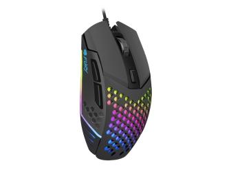 Klawiatura gamingowa podświetlana dla graczy BLOW HURRICANE + mysz FURY BATTLER 6400DPI + mata LED