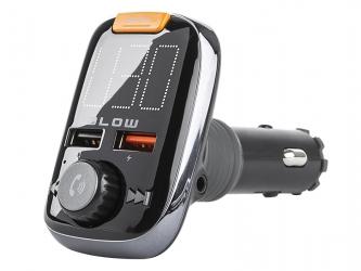Transmiter FM BLOW Bluetooth 5.0 Zestaw głośnomówiący + Quick Charge 3.0