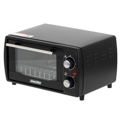 Piekarnik elektryczny z rusztem i tacką Mesko MS 6013  9 L