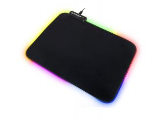 REBELTEC PATROL klawiatura dla graczy z podświetleniem RGB + mata + mysz + słuchawki + pad