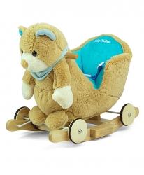 Miś na biegunach Milly Mally Polly Blue Bear interaktywny niedźwiadek bujak jeździk