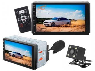 "Stacja multimedialna LTC AVX-A8100 Android 7"" FM microSD USB AUX Bluetooth GPS pilot + kamera cofania mikrofon"
