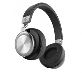 Słuchawki bezprzewodowe bluetooth LTC SYMPHONY mikrofon FM SD AUX - czarne