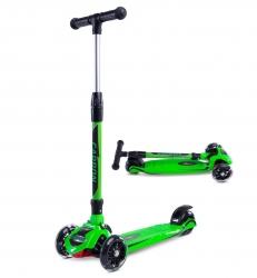 Hulajnoga trójkołowa Caretero Toyz Carbon - zielona