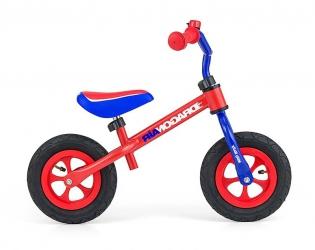Rowerek biegowy z dzwonkiem Milly Mally Dragon Air czerwony