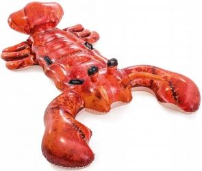 Materac zabawka do pływania dmuchany rak XXL INTEX 213cm x 137cm