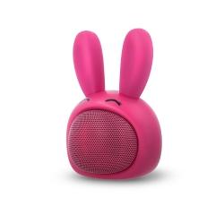 Głośnik bluetooth dla dzieci Forever Sweet Animal różowy królik