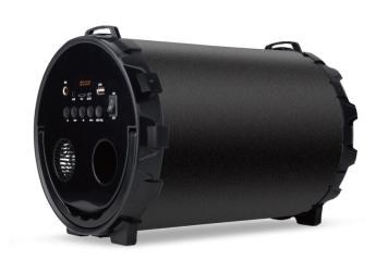 Głośnik bluetooth SoundTUBE 220 FM USB AUX microSD - czarny