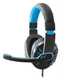 Słuchawki gamingowe nauszne z mikrofonem ESPERANZA Crow - niebieskie