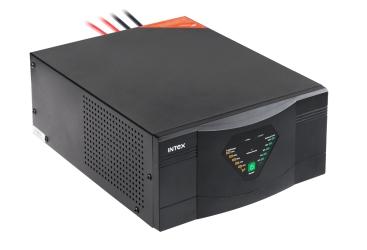 Awaryjne źródło zasilania INTEX KOM0312 z przebiegiem sinusoidalnym i funkcją ładowania 12V 230V 600W