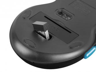 Klawiatura gamingowa podświetlana dla graczy BLOW HURRICANE + bezprzewodowa mysz FURY STALKER + mata LED + słuchawki