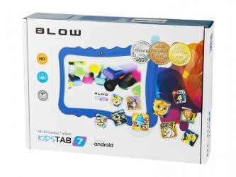 Tablet edukacyjny dla dzieci BLOW KIDSTAB 7 ver. 2020 +gry +zestaw - niebieski