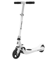 Hulajnoga elektryczna dla dzieci FUN WHEELS 100W 50kg - biała