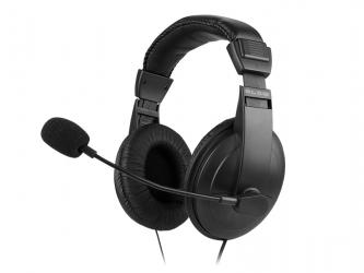 Stereofoniczne słuchawki z mikrofonem Rebeltec ROHAN