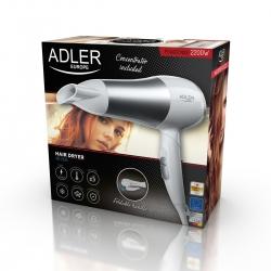 Suszarka do włosów 2200 W Adler AD 2225 zimne powietrze