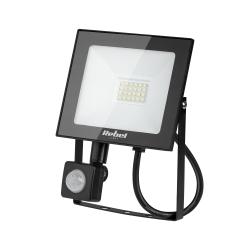 Halogen lampa LED naświetlacz Rebel 20W SMD 3000K 1500 lm z sensorem zmierzchu