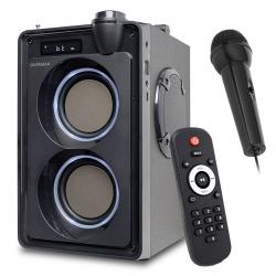 Głośnik Bluetooth Bezprzewodowy OVERMAX SOUNDBEAT 5.0 Pilot 2x20W funkcja karaoke