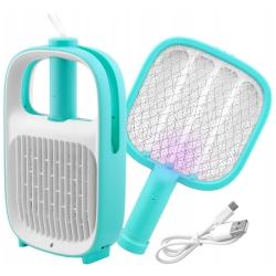 Lampa owadobójcza UV z łapką na muchy