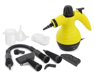 Czyścik myjka parowa Esperanza STORM 350ml zestaw funkcjonalnych końcówek