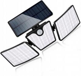 Lampa solarna LED LTC 20W z czujnikiem ruchu i zmierzchu