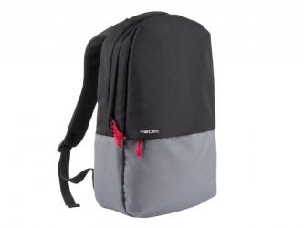 "Plecak na laptopa NATEC GAUR 15.6"" czarno-szary"
