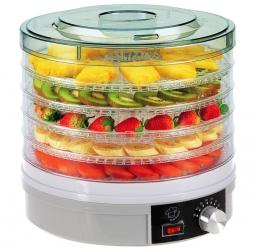 Suszarka do owoców warzyw grzybów i ziół 245W 5 kg