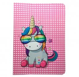 """Uniwersalne etui do tabletów 7-8"""" Rainbow Unicorn"""