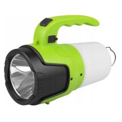 Akumulatorowa latarka ręczna 2w1 szperacz LTC LED 3W + 8xSMD 2W
