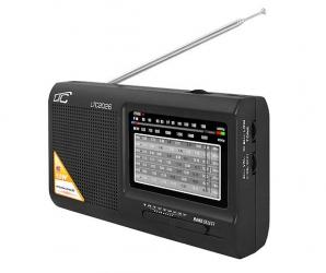 Przenośne radio LTC Wilga czarne