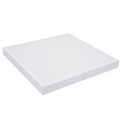 Panel LED 60x60cm 48W natynkowy PLAFON sufitowy 3000K-WW - biały