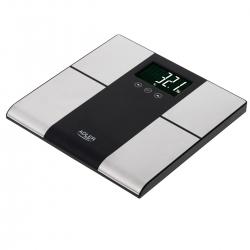 Elektroniczna waga  łazienkowa z analizatorem do 225KG Adler AD 8165