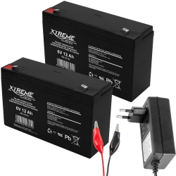 Akumulator żelowy XTREME 6V 12Ah