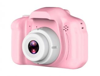 Aparat dla dzieci kamera Full HD X2 różowy