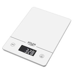 Elektroniczna waga kuchenna Adler AD 3170 do 15 kg biała