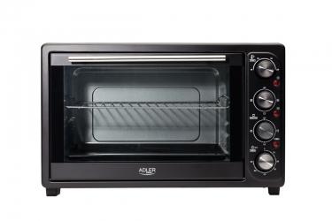 Piekarnik elektryczny z rusztem i tacką 45 L Adler AD 6010