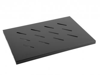 "Półka do szafy RACK (WF01 V1) 19"" LANBERG 1U 496x280mm do 120kg czarna"