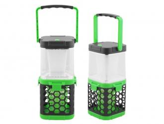 Lampa 2w1 kempingowa owadobójcza LED LTC zielona