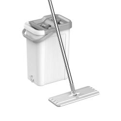 Mop czyszczący dwukomorowy Teesa New Clean R19 7,5 l + 2 nakładki z mikrofibry
