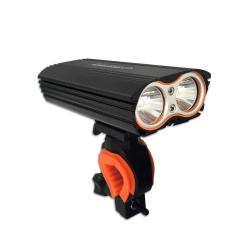 Akumulatorowa lampka rowerowa LED na przód Esperanza CENTAURUS PRO 3500 Lx
