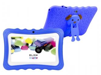 Tablet BLOW KIDSTAB 7.4 HD2 + etui + gry dla dzieci - niebieski