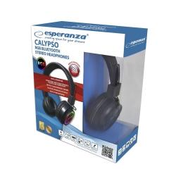 Podświetlane słuchawki bluetooth Esperanza CALYPSO mikrofon