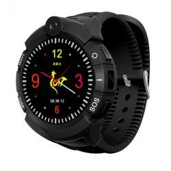 Watch Phone Kids z lokalizatorem GPS/WIFI Black - menu PL - zegarek smartwatch