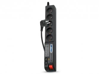 Listwa zasilająca ACAR 504WF 1.5m 5X 230V PL czarna