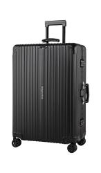 Kabinowa walizka aluminiowa na kółkach Kruge&Matz 82 l czarna
