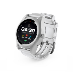Zegarek Smartwatch SIM Bluetooth Forever SW-200 srebrno-biały