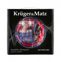Zestaw montażowy do wzmacniaczy Car Audio Kruger&Matz KM0011
