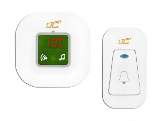 Bezprzewodowy dzwonek LTC ELECTRO 36 melodii termometr